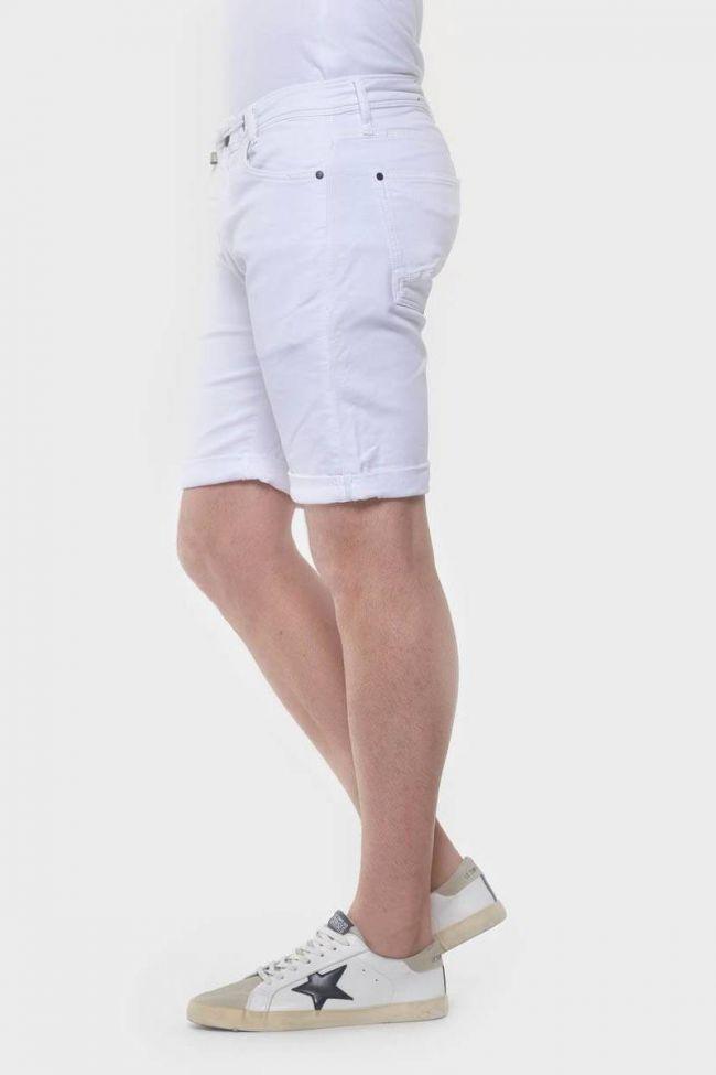 White Jogg Shorts