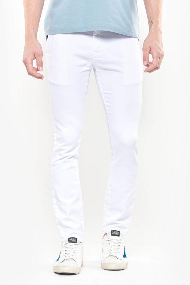 Chino Jogg Slim Kurt blanc