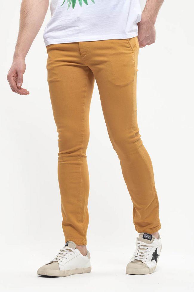 Yellow Jogg chino pants Kurt