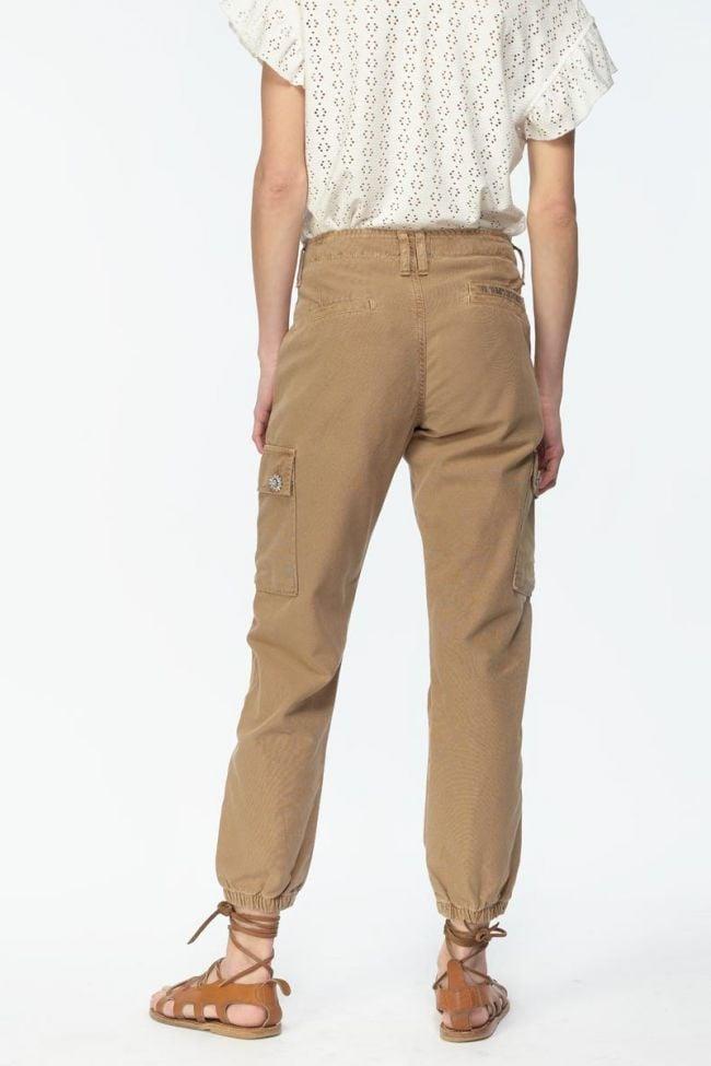 Pantalon cargo Dakota caramelo