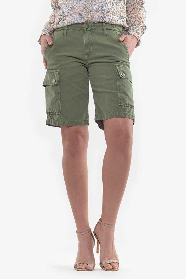 Khaki Johnson cargo shorts