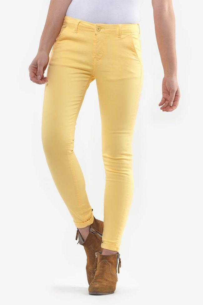 Pantalon Lidy Slim Jaune