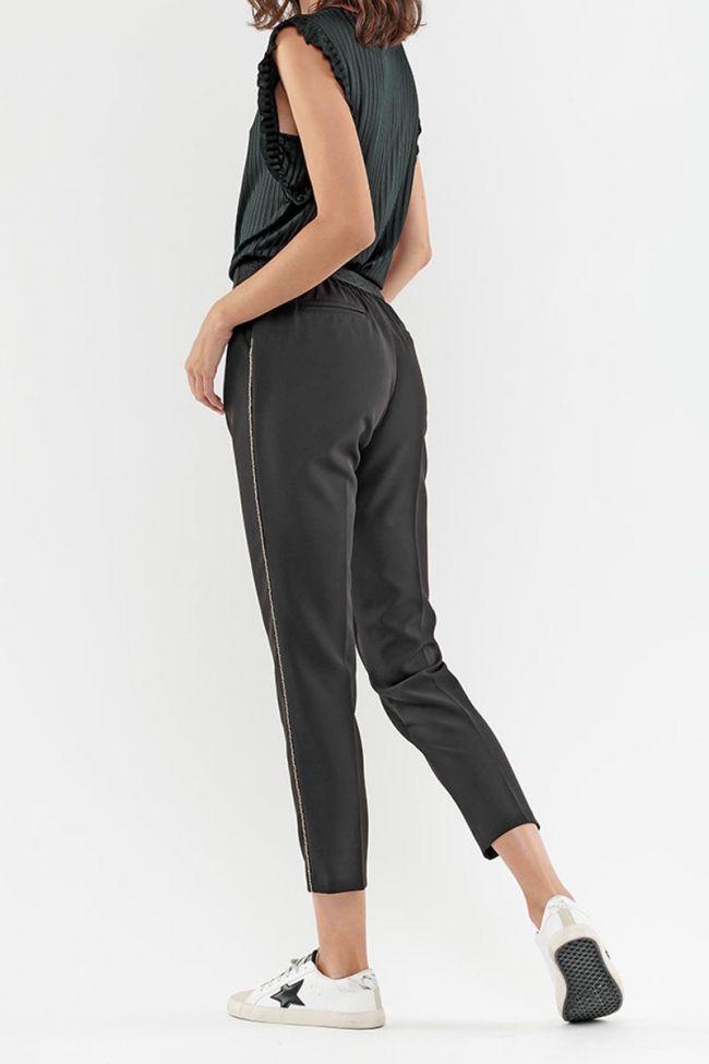 Pantalon cigarette Lux noir