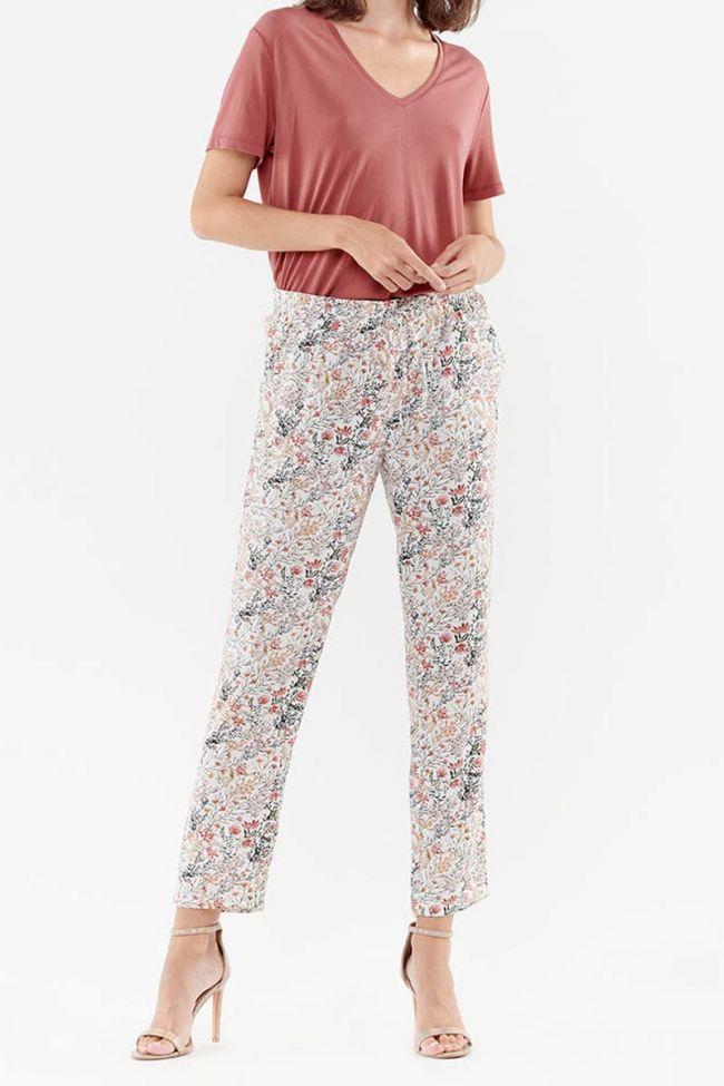 Tulipa off-white trousers