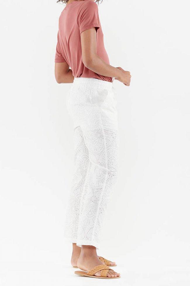 Yeta white trousers