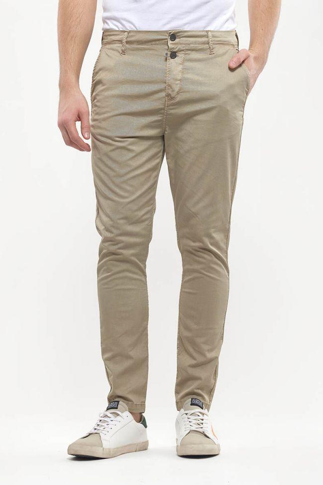Pantalon Chino Slim Astor beige