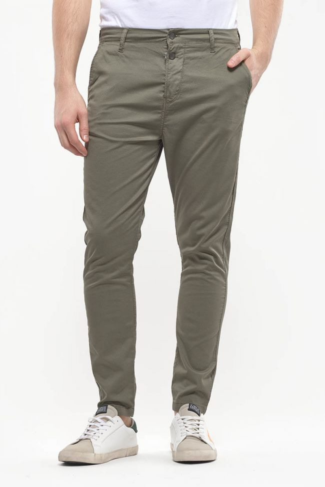 Khaki Astor Chino pants
