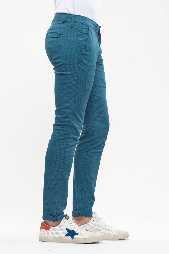 Pantalon Chino Slim Denzel bleu