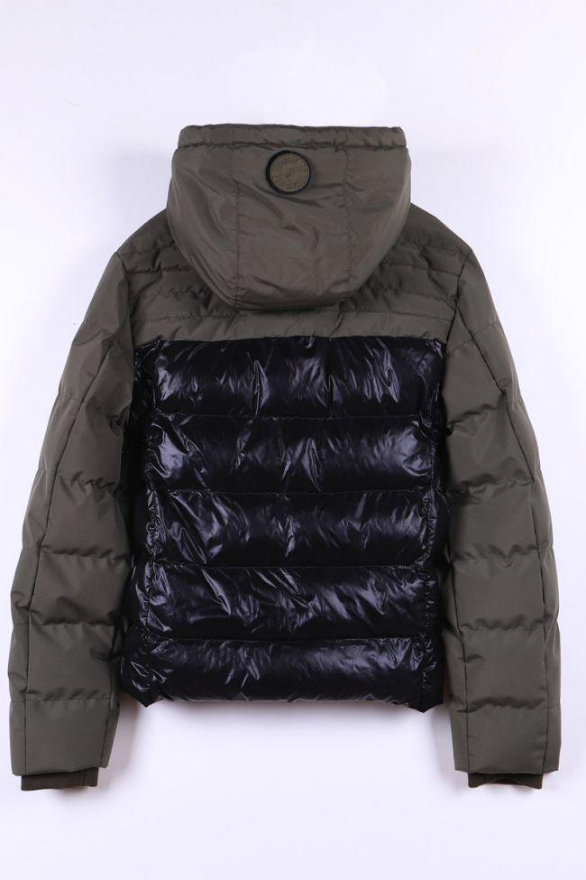 Black khaki Dimitrybo padded jacket
