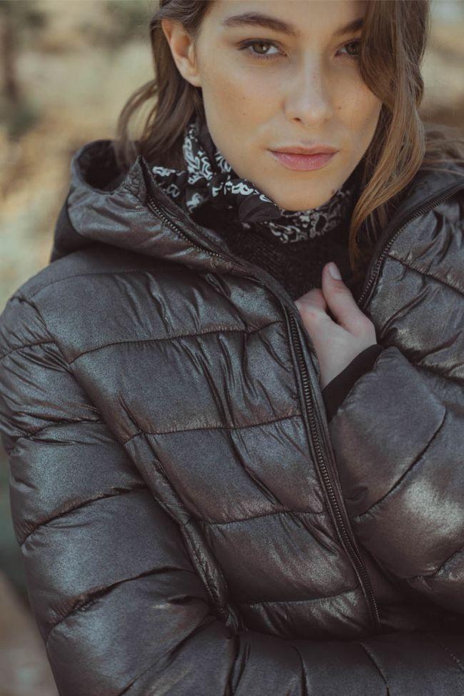 Doudoune Boecia argentée