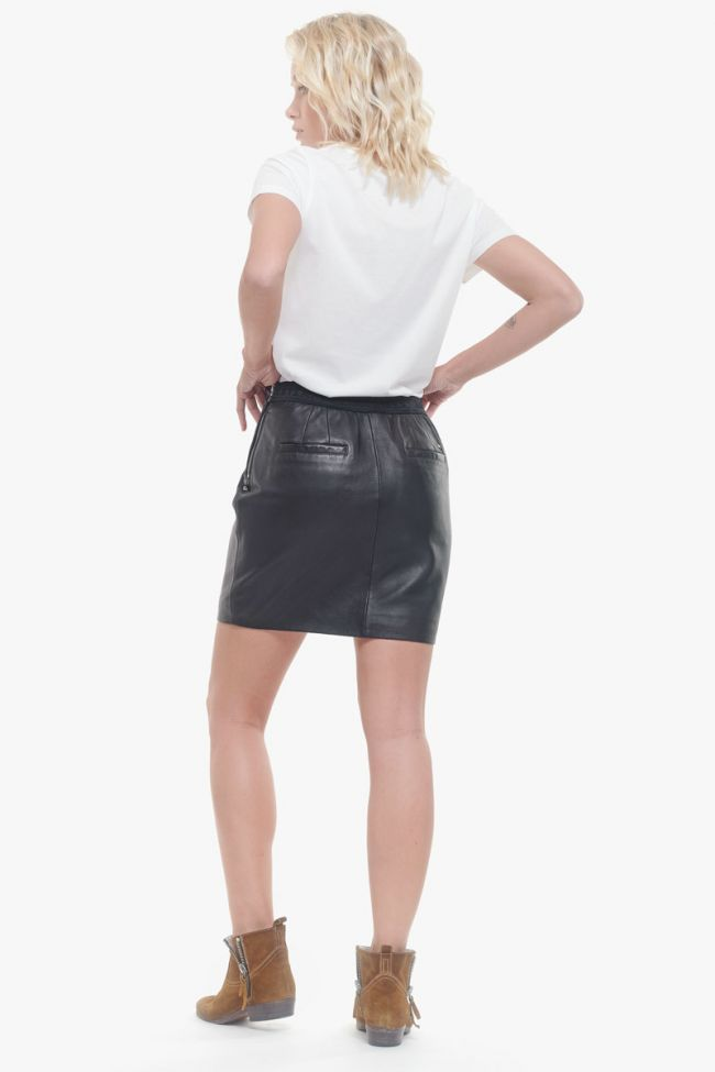 Leather Bridget skirt