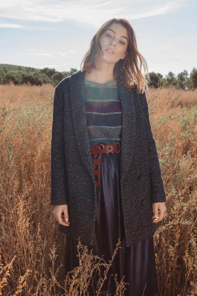 Dilan wool-blend coat