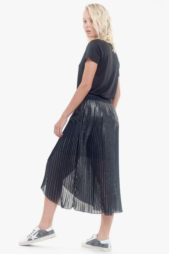 Jupe plissée Kimberly argentée