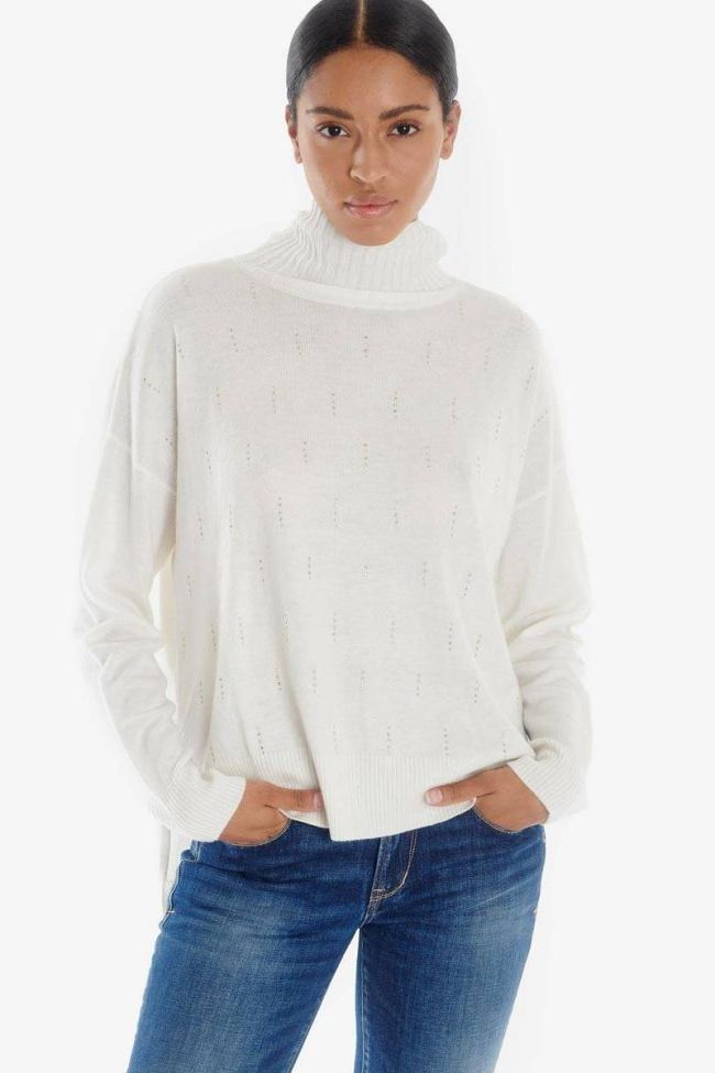 Lisbo ecru pullover