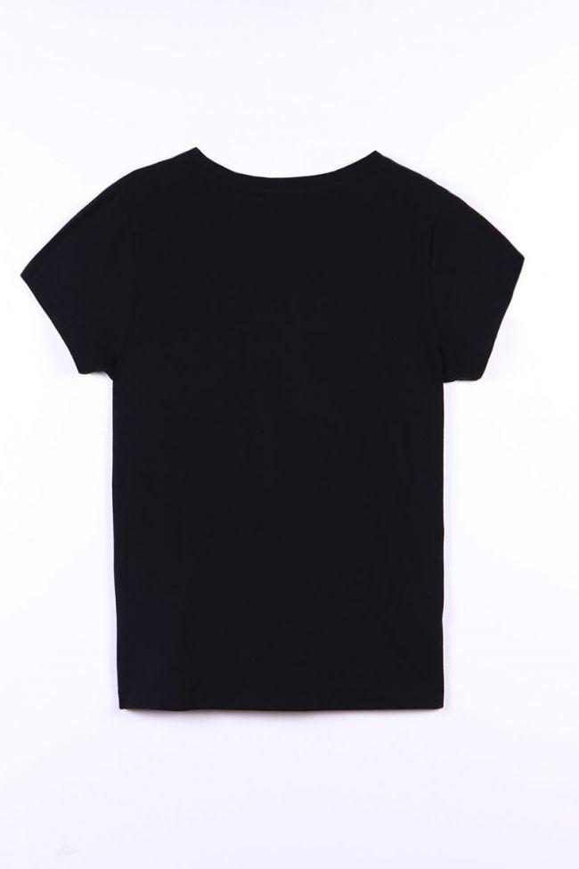 T-shirt Annalisegi noir