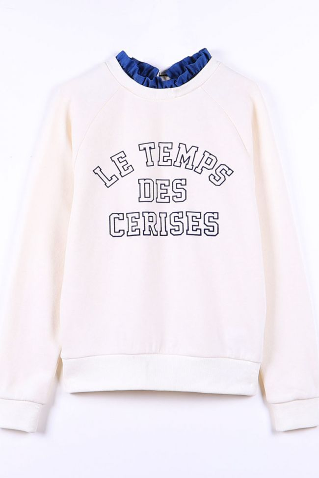 Écru champagne Chapigi sweatshirt