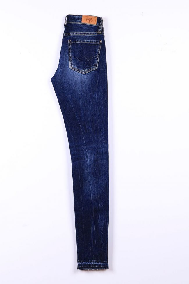Blue power basic slim jeans N°1