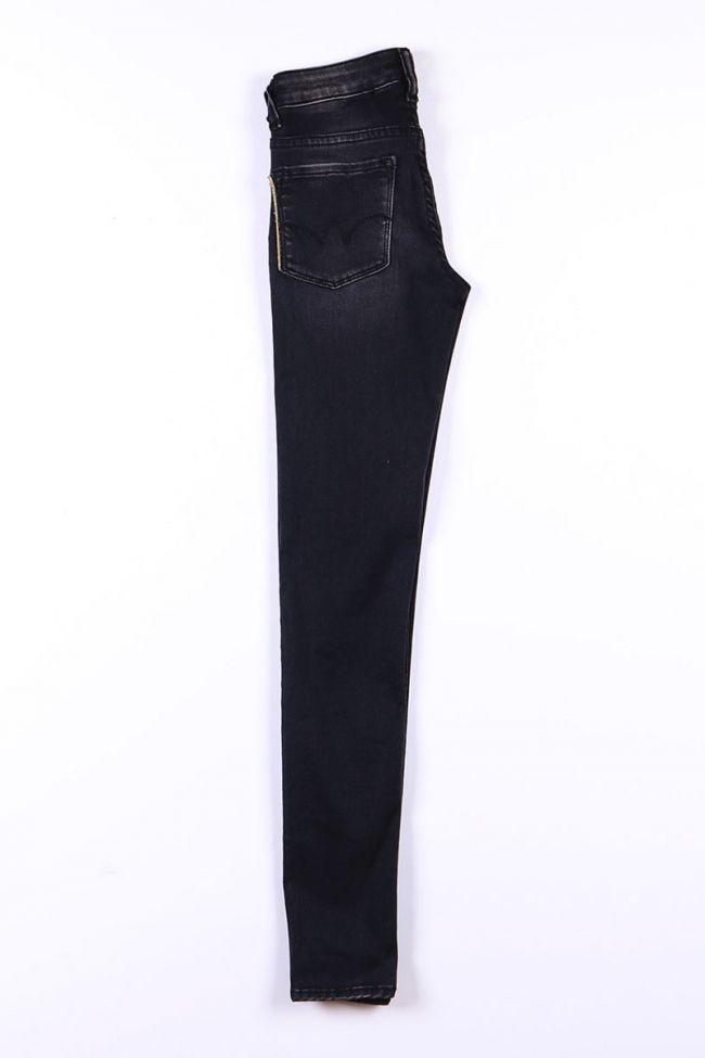 Black ultra power slim jeans N°1