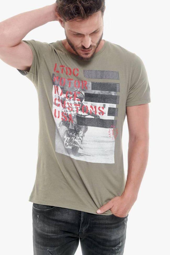 Khaki Bourbon t-shirt
