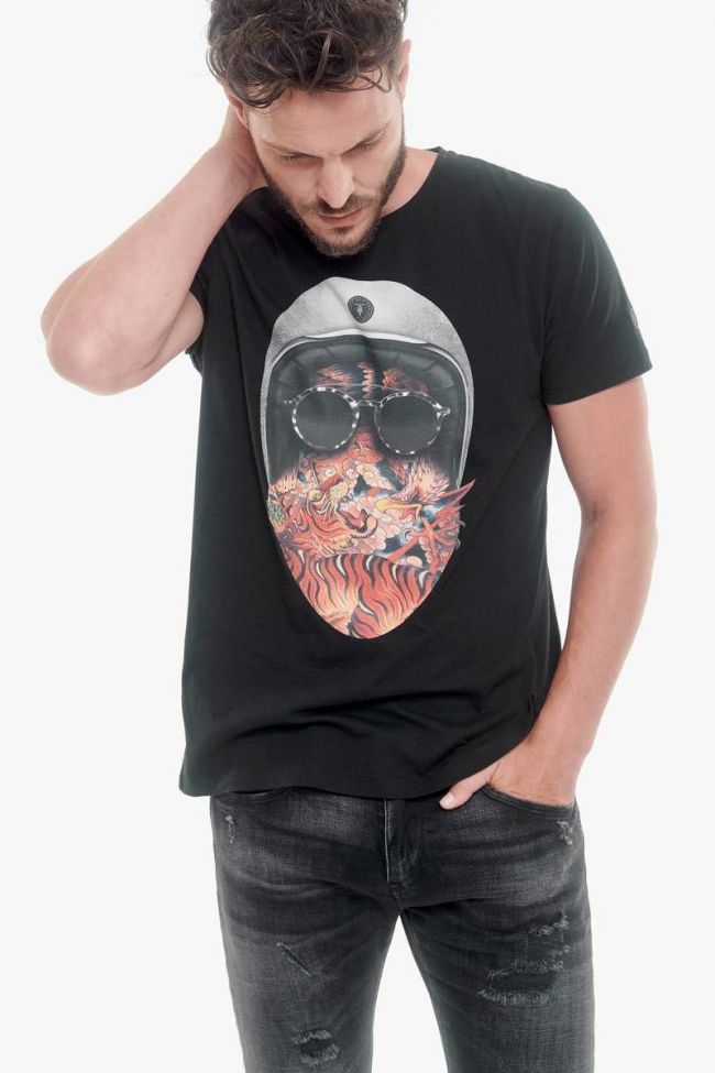 T-Shirt Bushi noir