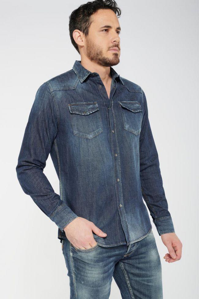 Chemise bleue Juanito en jeans