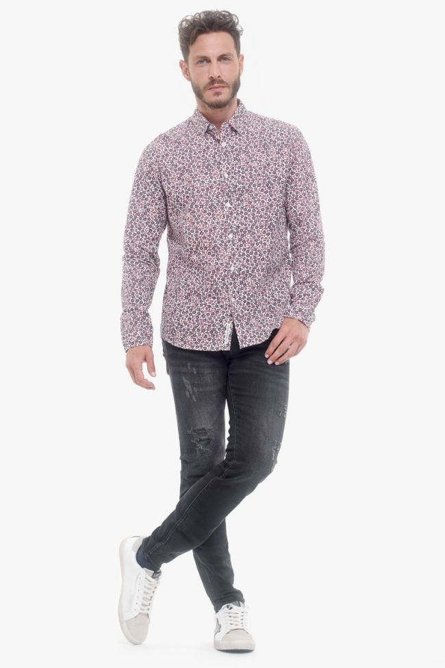 Chemise Molda blanche à fleurs