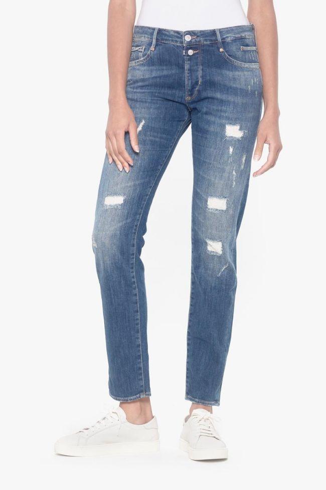 Yuma 200/43 boyfit jeans destroy bleu N°2