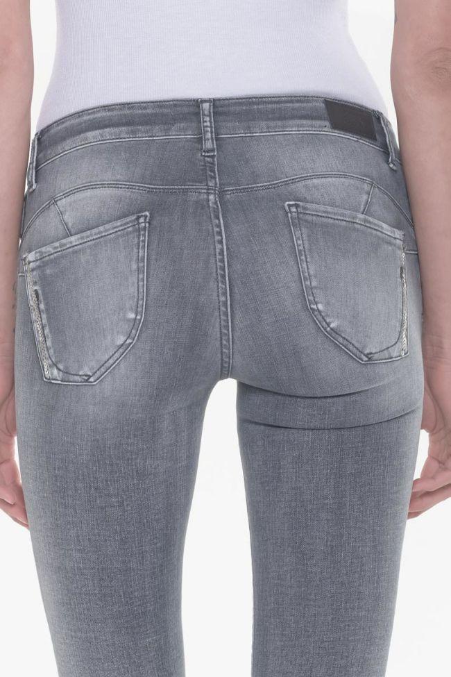 Amick pulp slim 7/8ème détails sequins jeans gris N°2