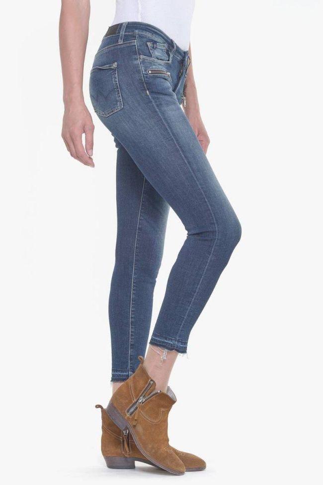 Kiev power skinny 7/8ème jeans bleu N°2
