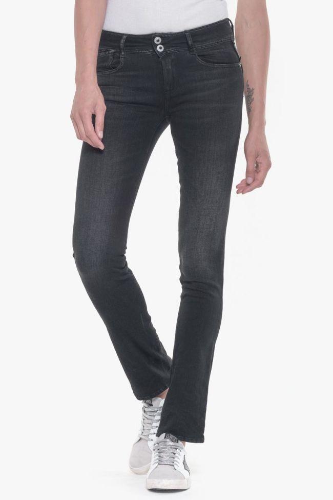 Lin pulp regular jeans black N°1