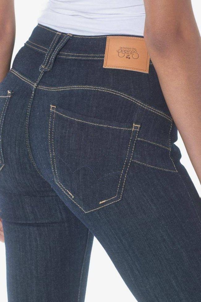 Pulp slim taille haute jeans bleu brut N°0