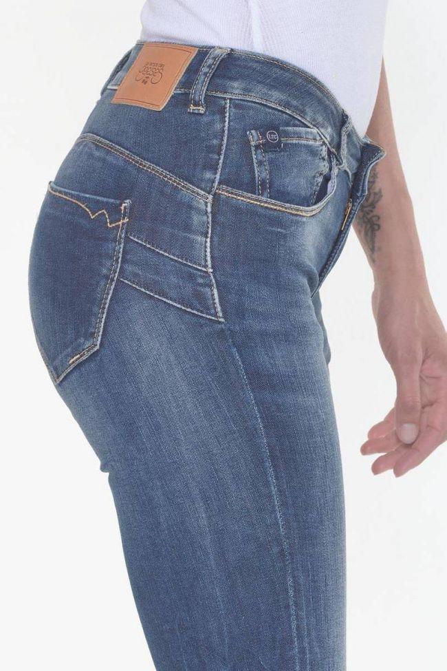 Pulp slim taille haute 7/8ème jeans bleu N°3