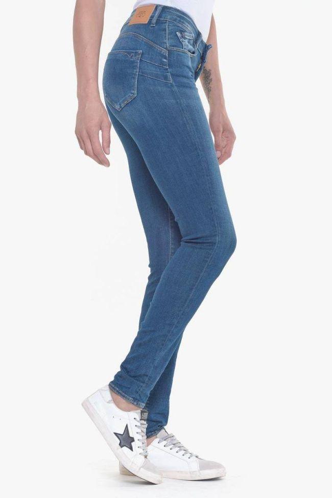 Pulp slim high waist jeans blue N°2