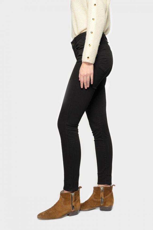 Pulp slim taille haute jeans noir N°0