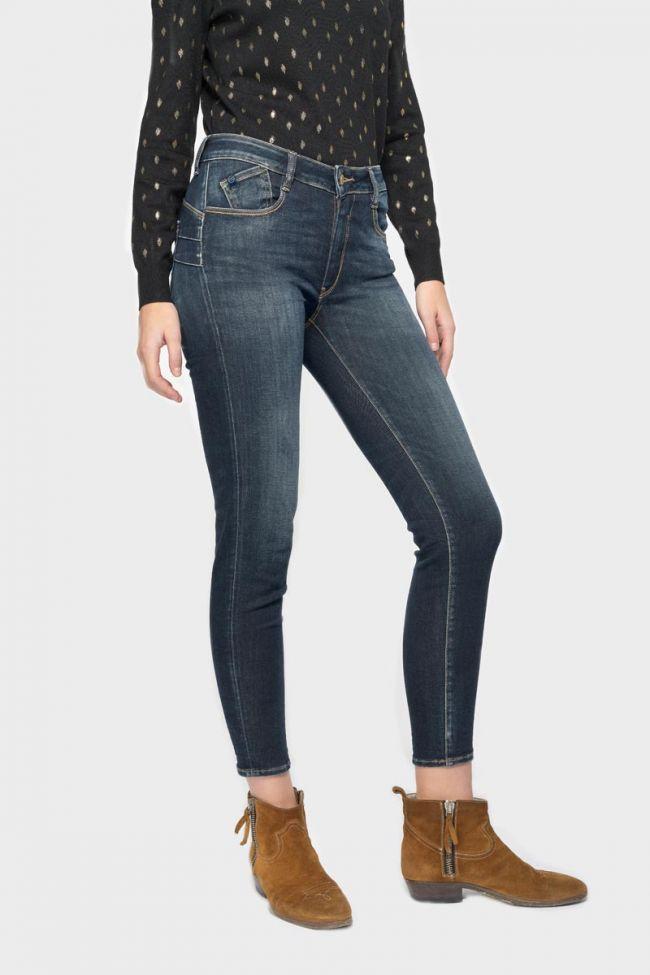 Pulp slim high waist jeans blue  N°1