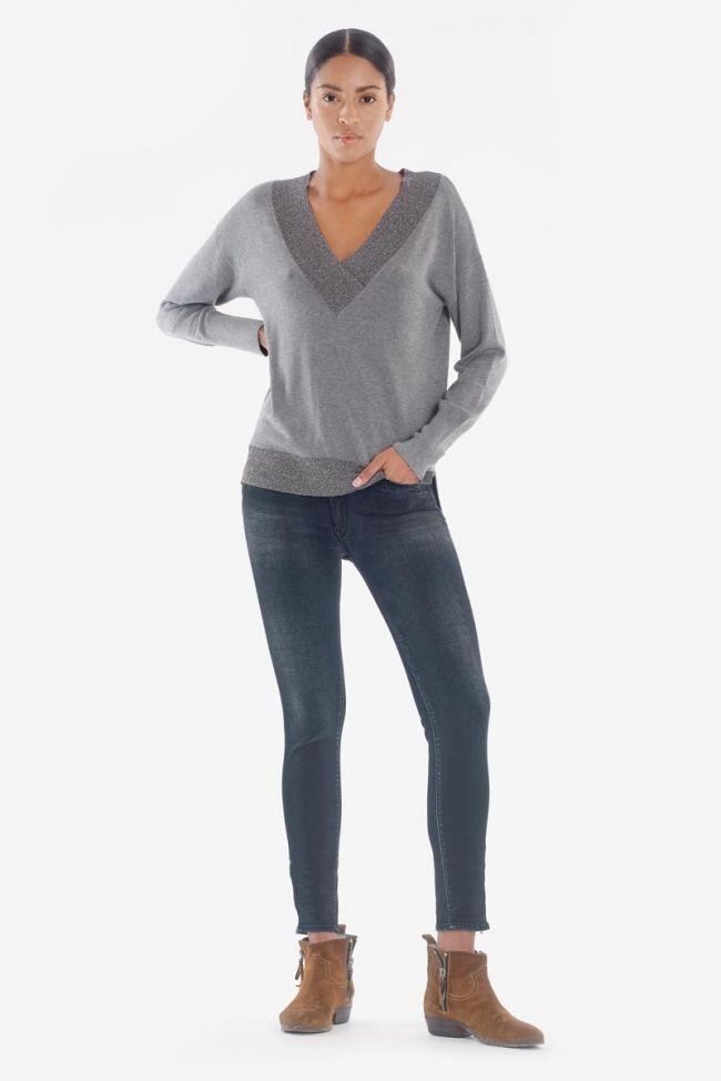 Pulp Slim High Waist Skye 7/8th black-blue Jeans N°1