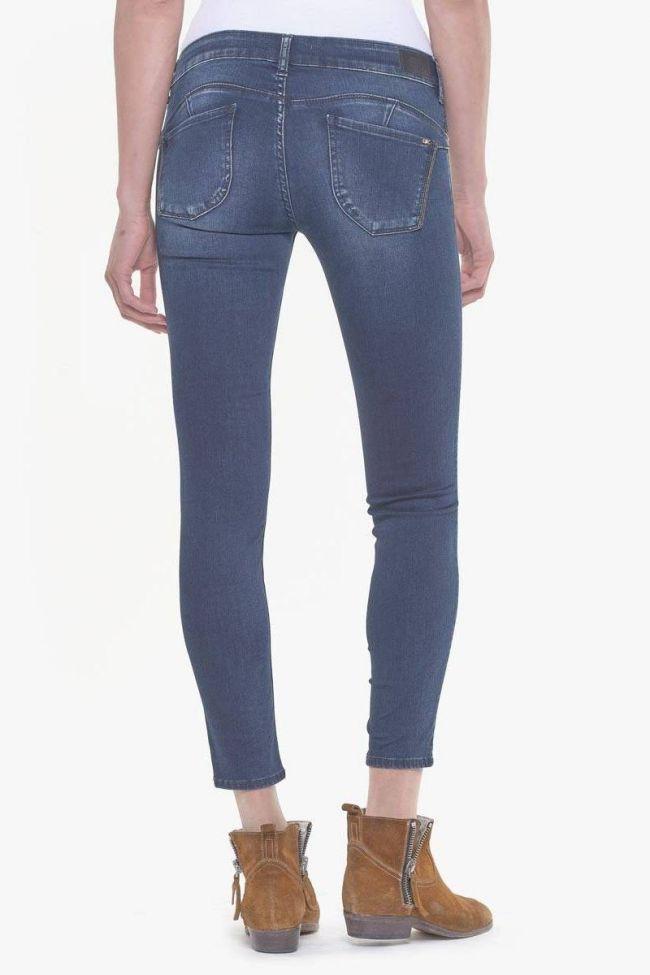 Topaz pulp slim 7/8th jeans blue-black N°2