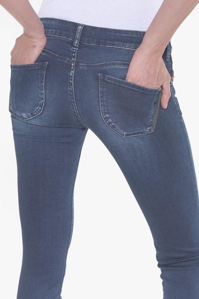 Topaz pulp slim 7/8ème jeans bleu-noir N°2