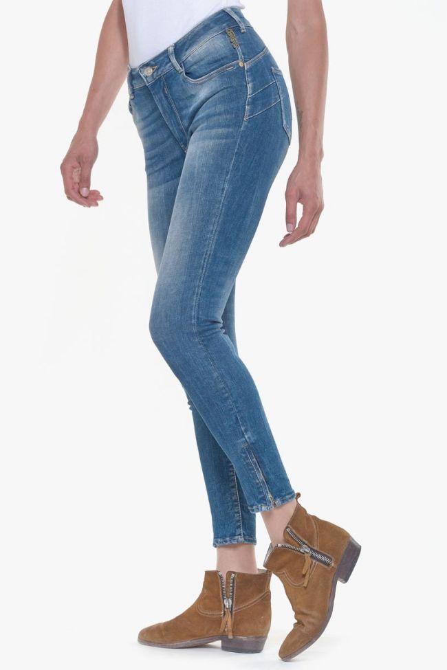 Jeans Pulp slim taille haute Vivi bleu N°3