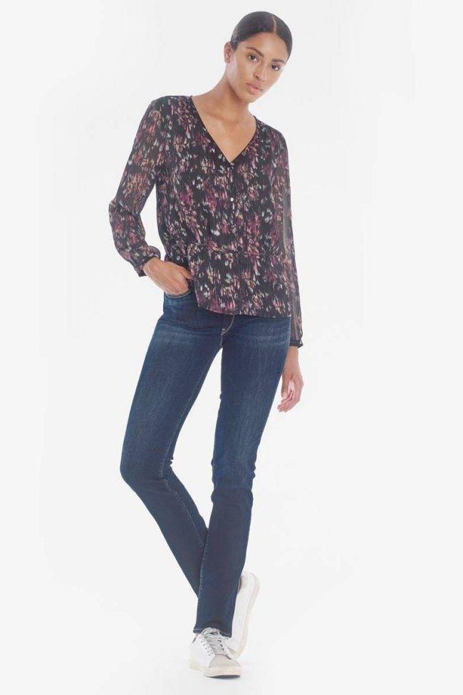 Zita pulp regular taille haute jeans bleu N°1