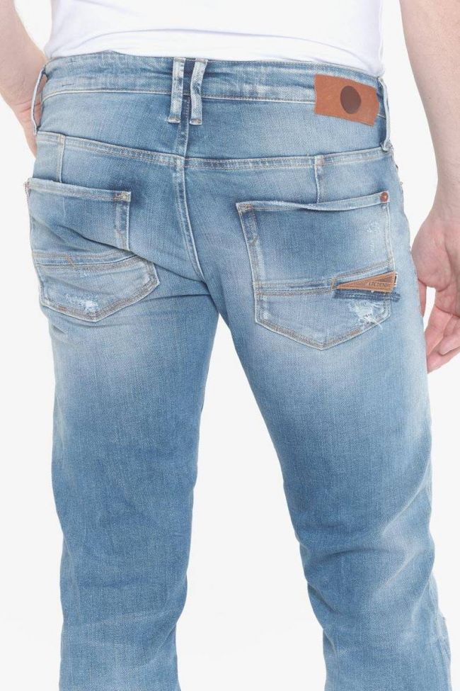 Itzan 700/11 slim jeans destroy bleu N°4