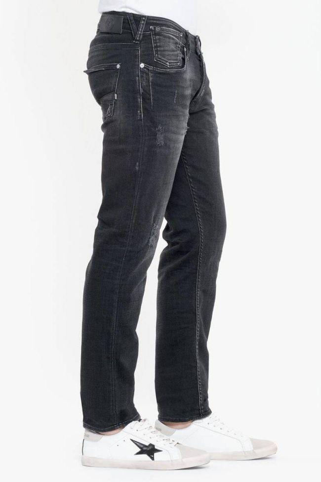 Kelw 700/11 slim jeans destroy noir N°1