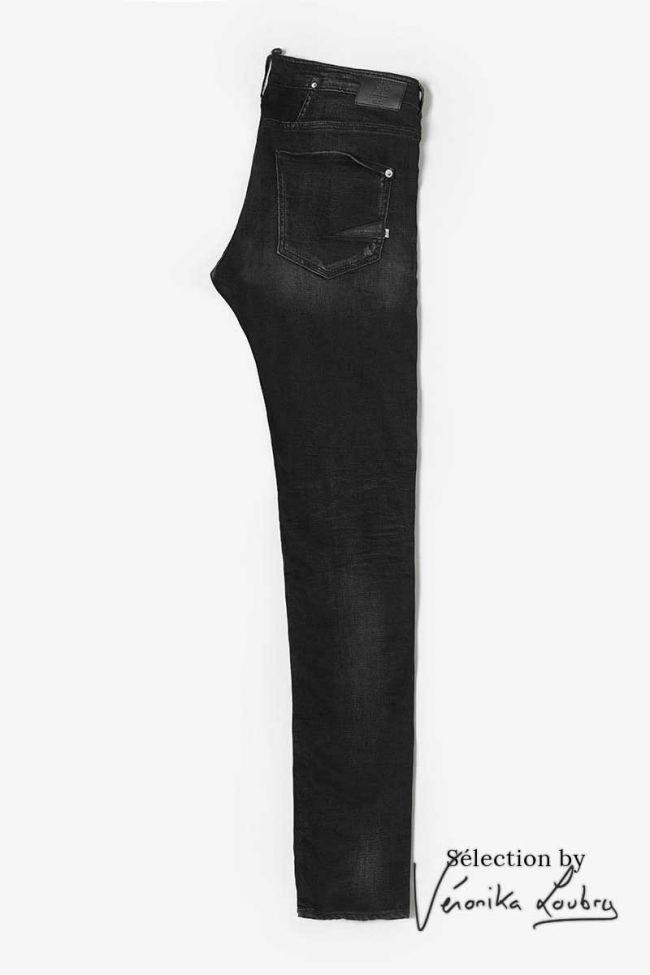 Jeans 700/11 slim Londres destroy noir N°1 by Véronika Loubry