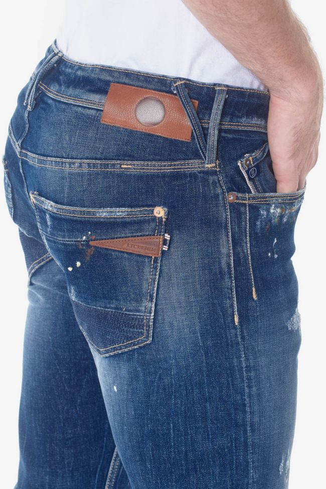 Oma 700/11 slim jeans destroy bleu N°2
