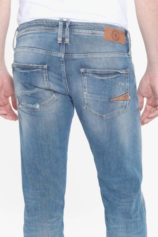Skeet 700/11 slim jeans destroy bleu N°4