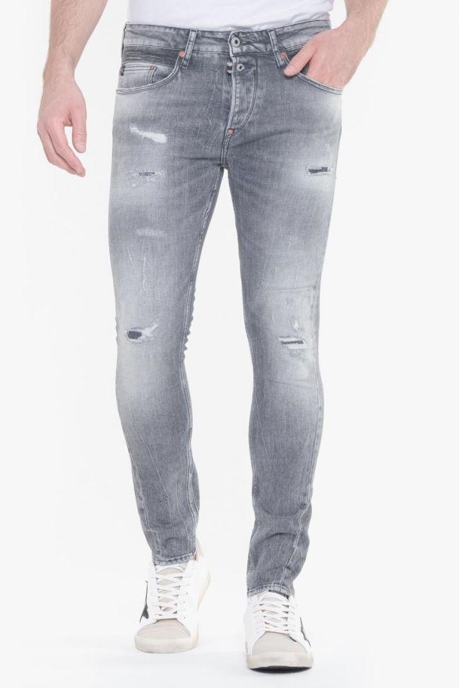 Munoz 900/15 tapered jeans destroy gris N°3