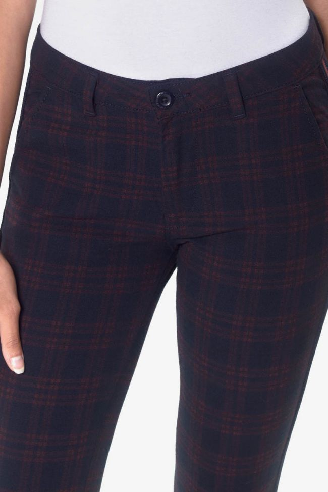 Navy Bolt trousers