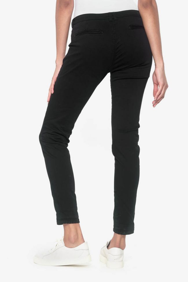 Black Lidy chino pants