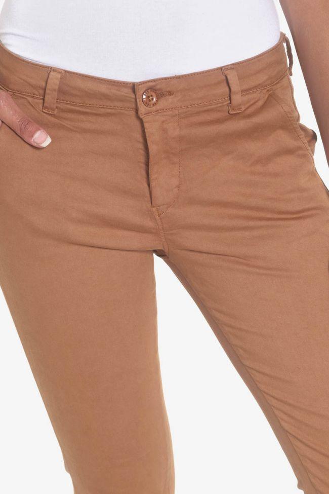 Pantalon chino Lidy cappuccino
