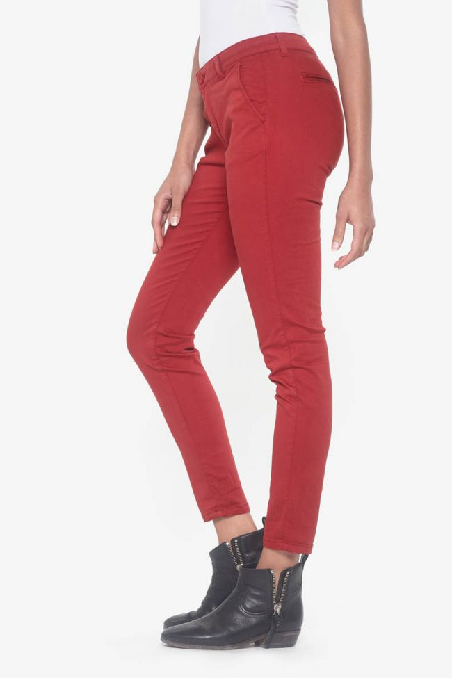 Red Lidy chino pants